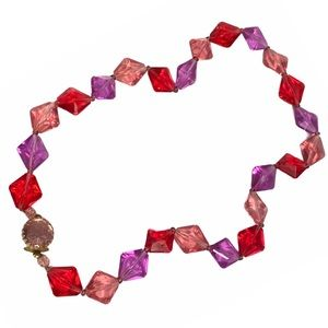 W Germany Colorful Beaded Necklace